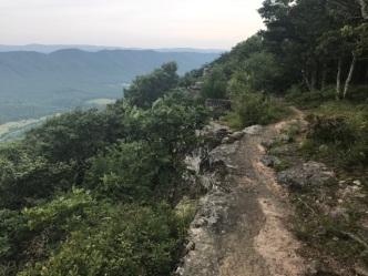 062017 - Trail on RIdge Line