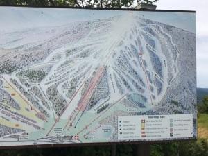 081417 - Bromley Mountain Ski Slope