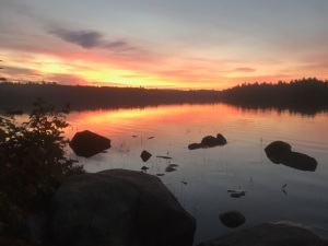 09617 - Sunrise over Bald Mountain Pond